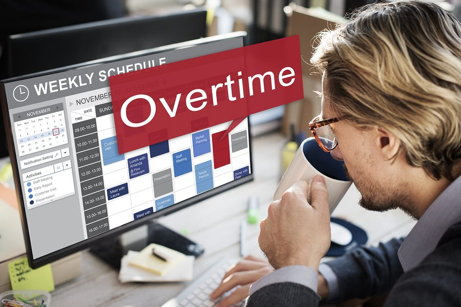 bigstock Overtime Hard Working Overload 125450801 1 - Controlling Overtime Costs
