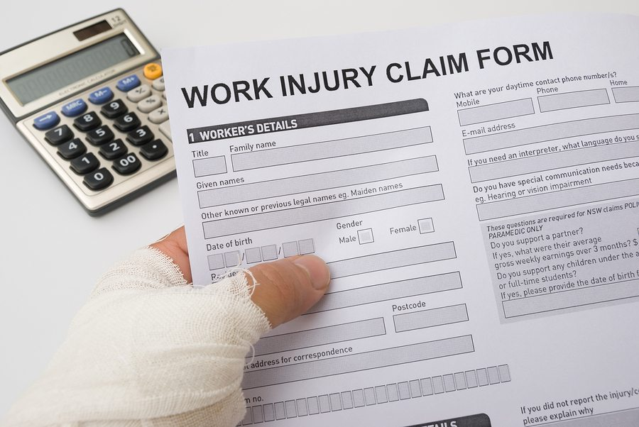 bigstock Hurted Hand Holding A Work Inj 43533628 - Tips for Reducing Workers Compensation Claims