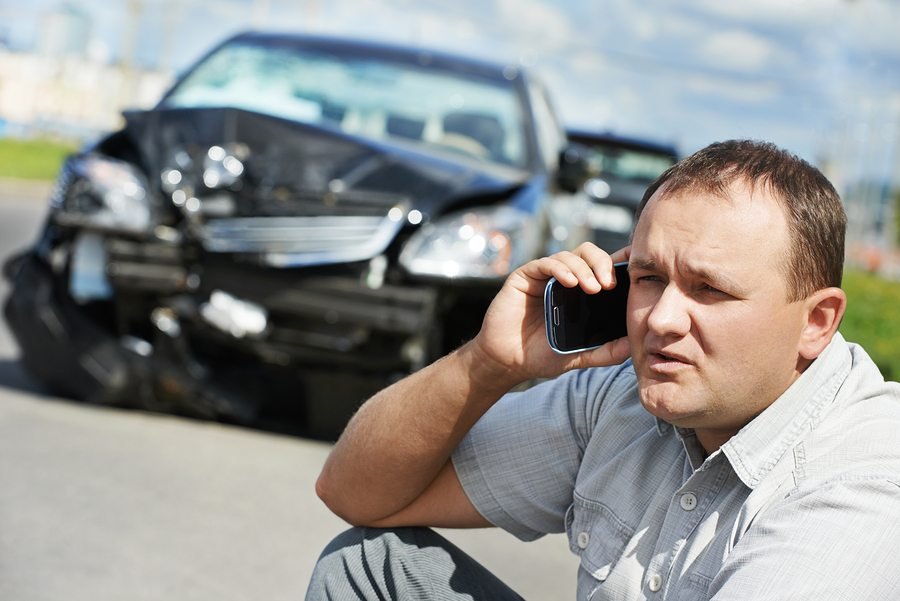 bigstock Adult upset driver man discuss 50445194 - Steps to Take After an Auto Accident