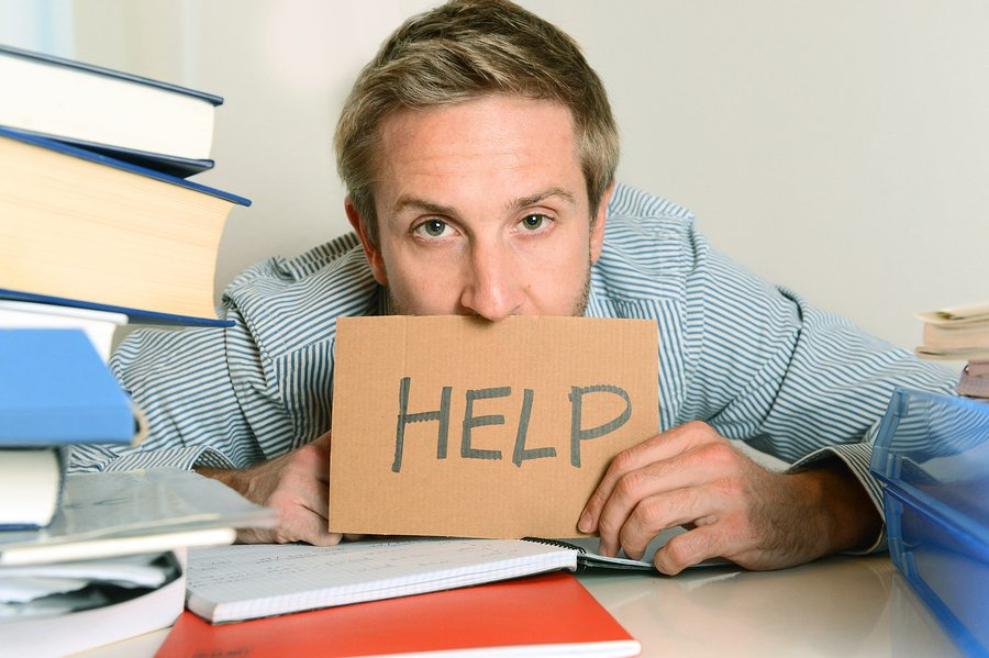 bigstock Young Student Overwhelmed Aski 54688616 - Five Big Causes of Employee Disengagement