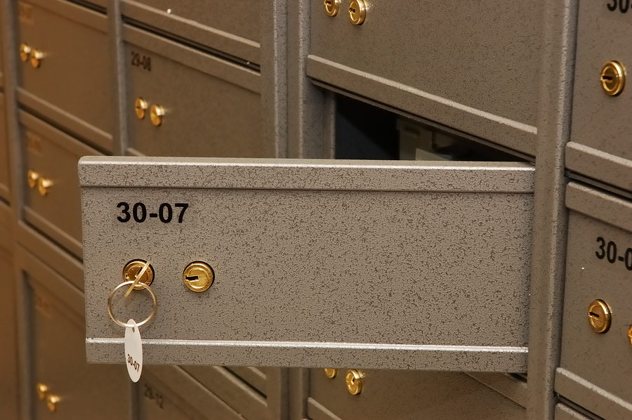bigstock Bank Safe Room 1759897 - Why to Choose a Safe Deposit Box Over a Home Safe